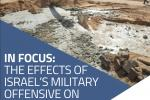 In focus: the effects of Israel's military offensive on Gaza's WASH facilities